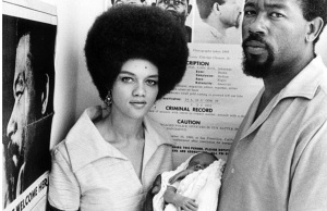 The image of Eldridge and Kathleen Cleaver posted by 9th Wonder. There are much better ways to make a point about Colorism that do not involve idolizing a convicted rapist.