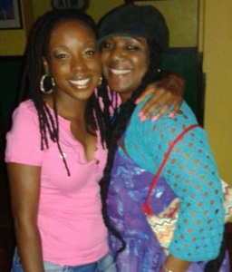 Liming with Charmas for my birthday, August 2015. She recognized my love for Caribbean music years ago and worked to cultivate it.