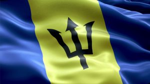 Bajan Flag