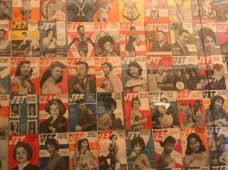 Vintage JET mag covers at Harlem Shake